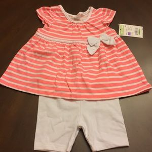 NWT Healthtex baby girl summer outfit.